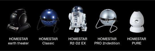 Homestar pro 2nd edition home planetarium sega tyos projector.