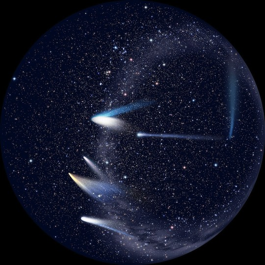 Sega Homestar Disc Comets