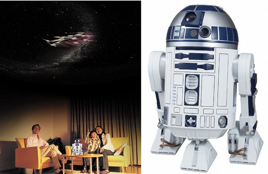 Homestar Star Wars R2-D2 EX Home Planetarium by Sega Toys