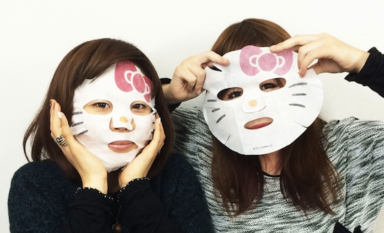 Hello Kitty Narikiri Face Pack