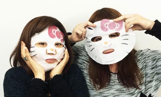 Hello Kitty Narikiri Face Pack