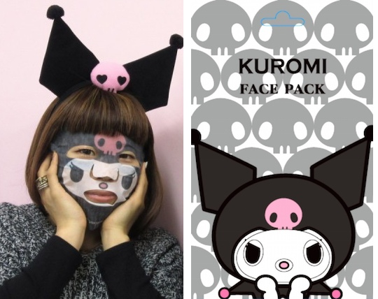 Kuromi Narikiri Face Pack