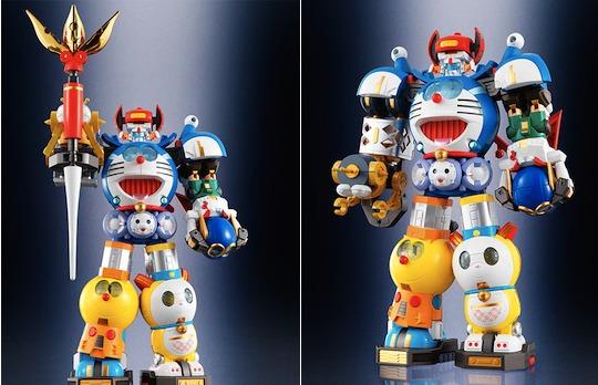 Chogokin Chogattai SF Robot Fujiko F Fujio Character Robot