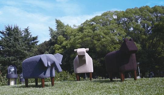 Frien'Zoo Stool Animal Chair