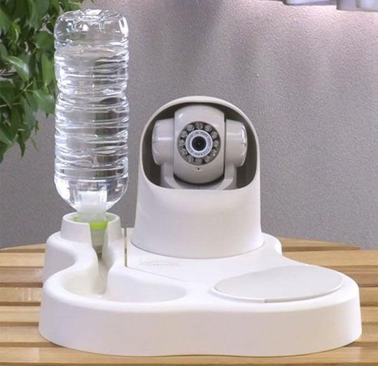 Remoca Dog Food Bowl Camera