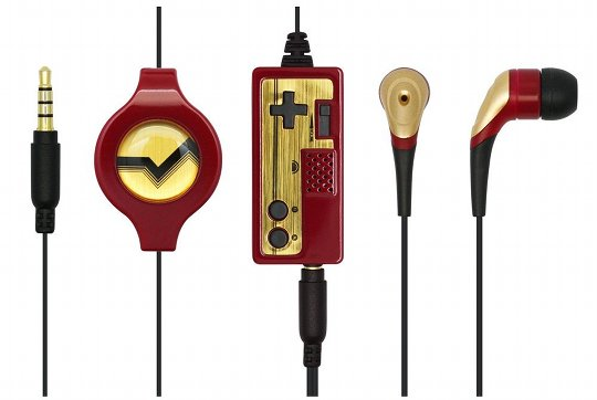 Retro 2 Con Famicom Earphones Mic