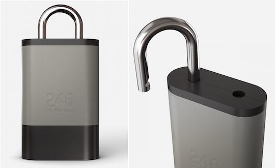 246 Nii Yon Lock Bluetooth Padlock