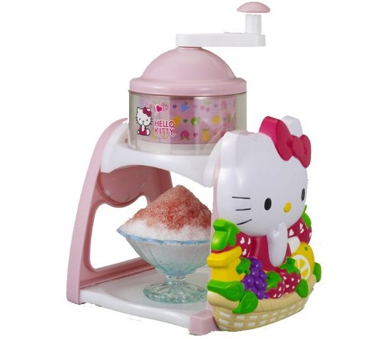 Hello Kitty Kakigori Shaved Ice Maker