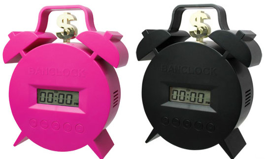 Banclock Twin Bell Alarm Clock