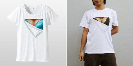 Mousou Mapping Bra T-Shirt