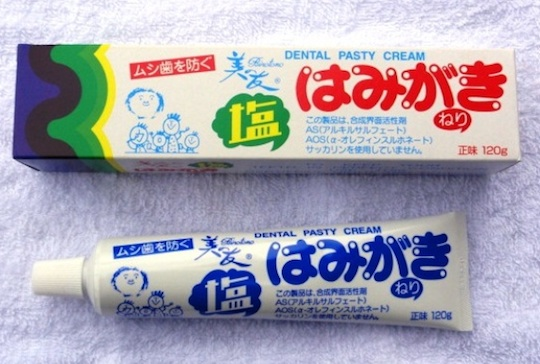 Binotomo Salt Toothpaste