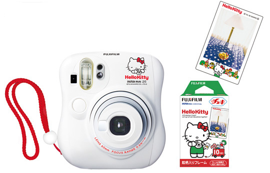 Instax Mini 25 Cheki Hello Kitty Kamera