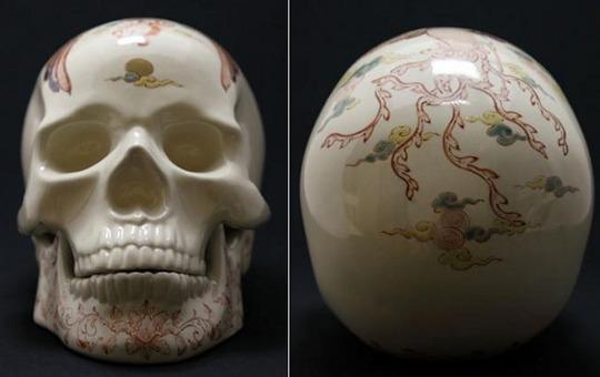 Kutaniyaki Skull Phoenix