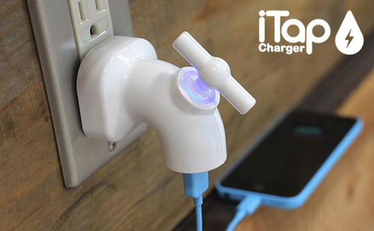 Hamee iTAP USB-AC Charging Adapter