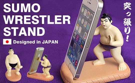 Sumo Wrestler Smartphone Stand