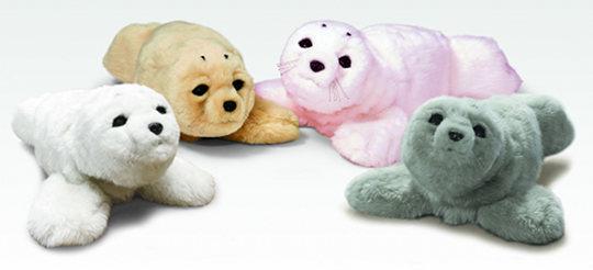 Paro Robot Seal Healing Pet Pink, Gray