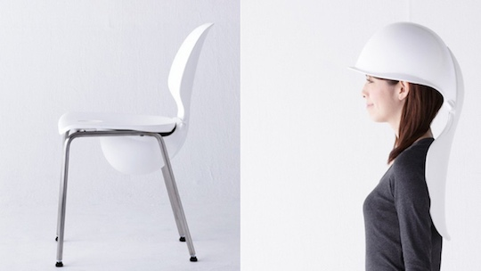 Mamoris Earthquake Helmet Chair