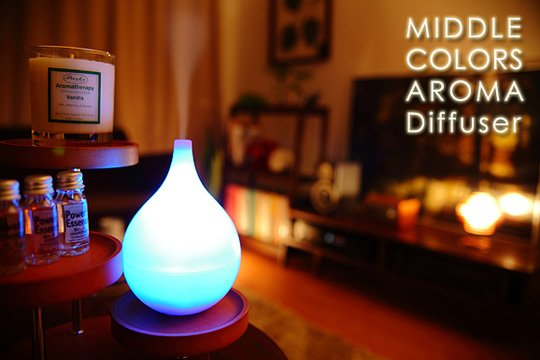Middle Colors Humidifier Aroma Diffuser
