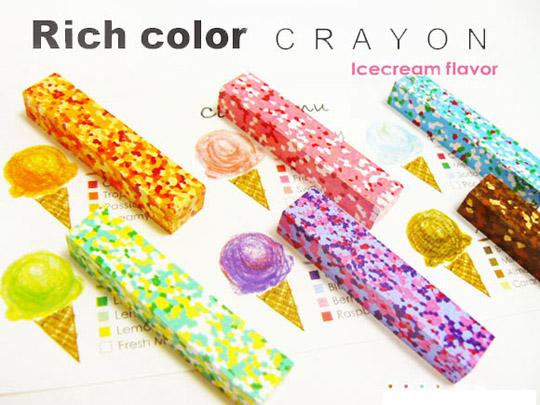 Rich Color Crayon Set