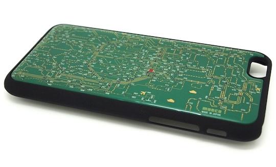 Moeco Tokyo Railway Electric Circuit Board iPhone 6 Case