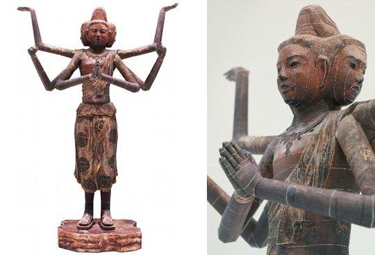 Ashura Statue Papercraft Model