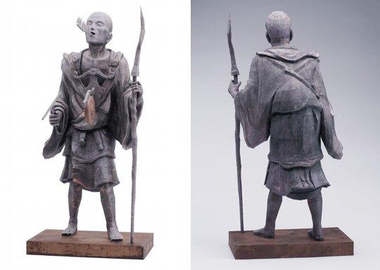 Kuya Japanese Priest Papercraft Model