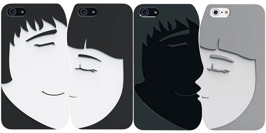 Ozaki O!coat Lover+ iPhone 5 Cover for Couples