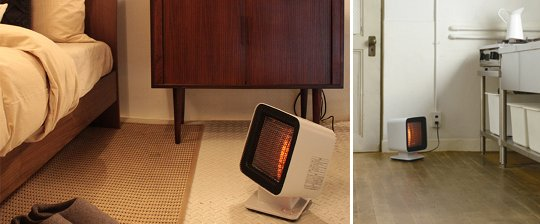 Plus Minus Zero Reflect Heater