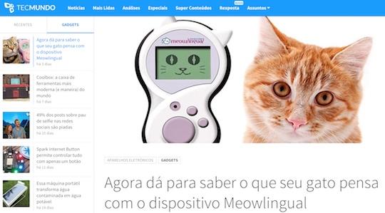 tecmundo meowlingual