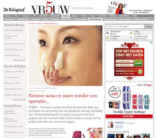 de telegraaf   beauty goods