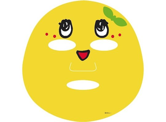 Funassyi Face Pack Pure Smile Pear Mask