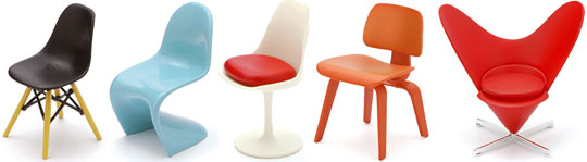 Mini Designer Chair Collection Vol. 1