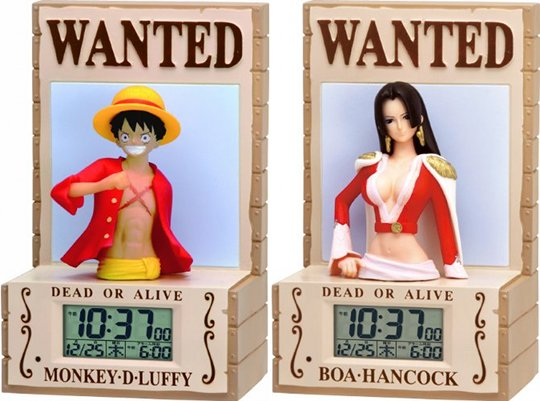 One Piece 3D Alarm Clock