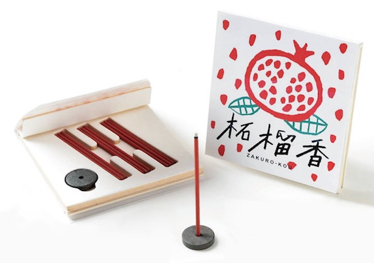 Zakuro-kou Incense Set