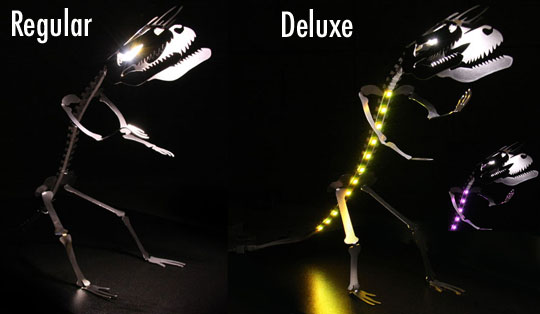 LEDSAUR Dinosaur LED Desk Lamp