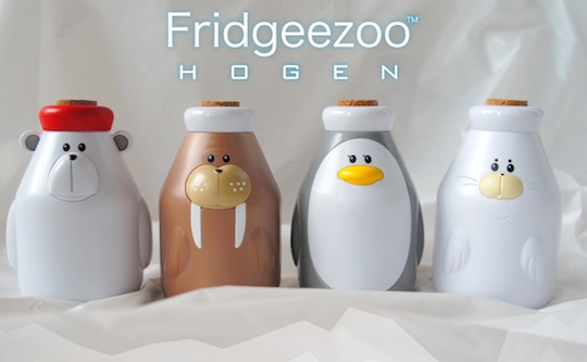 Fridgeezoo Hogen Talking Animal Drink Bottles