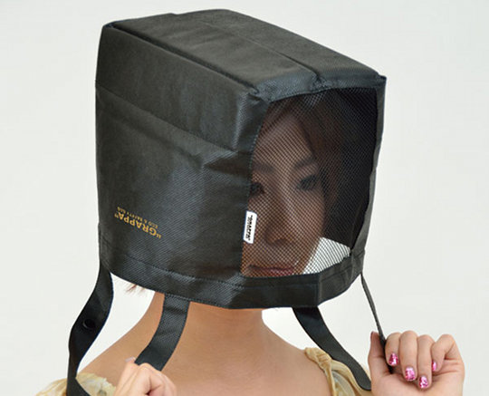 Grappa Eco Shopping Bag and Safety Helmet