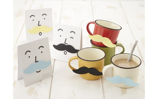 Mustache-it Sticky Notes