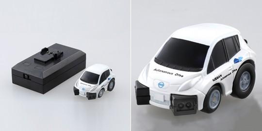 Choro-Q Q-Eyes QE-01 Nissan Leaf