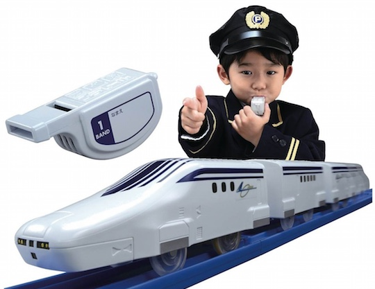 Fue-kon Whistle-Control Maglev Linear L0 Toy Railway