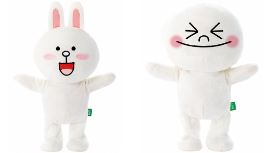 Line Cony, Moon, Brown Norinori Dancing Toy