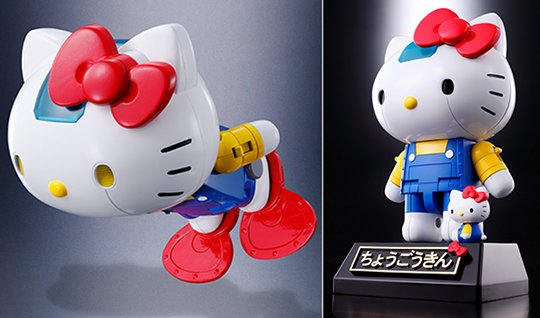 Chogokin Hello Kitty Robot Model
