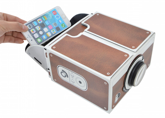 Thanko Smartphone de Theater Projector