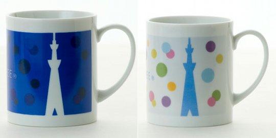 Tokyo Sky Tree Color Changing Mug