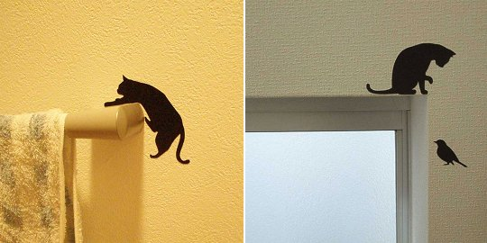 Wall story cat life 1