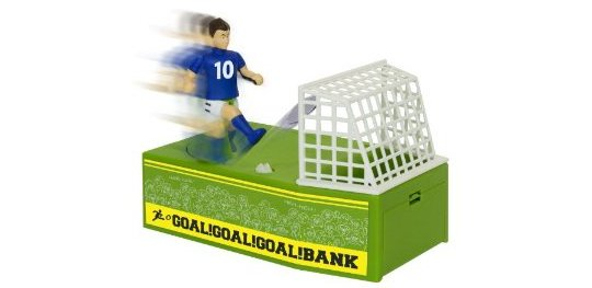 Goal! Football Coin Box