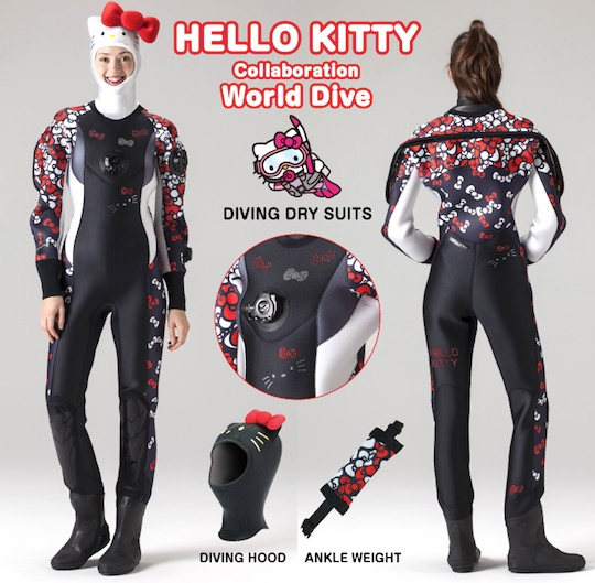 Hello Kitty Dry Suit