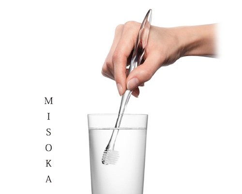 Misoka to Go Designer Nanomineral Toothbrush Set