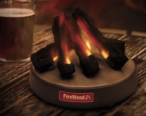FireWood Desktop Fire Place