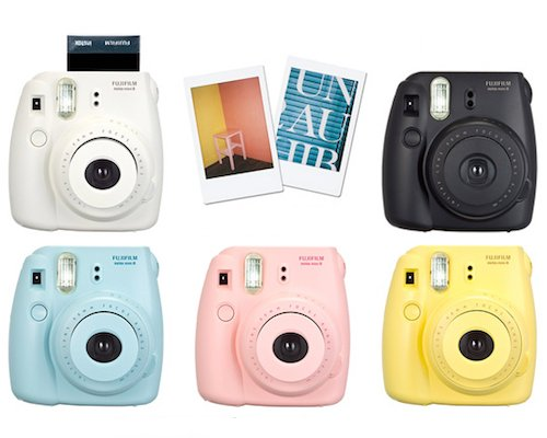 Instax Mini 8 Cheki Camera by FujiFilm